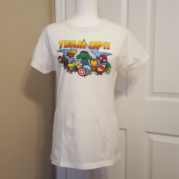 6fd96e2d5 Tops | Avengers Chibi Team Fitted Ladies Tshirt | Poshmark